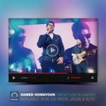 دانلود موزیک ویدیو جدید اجرای زنده چند آهنگ توسط حامد همایون